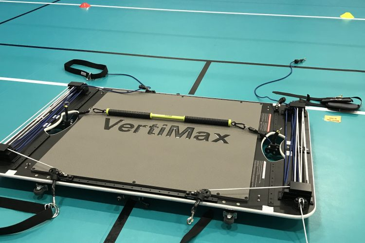 Vertimax jump training machine at Fiveset Net Sports